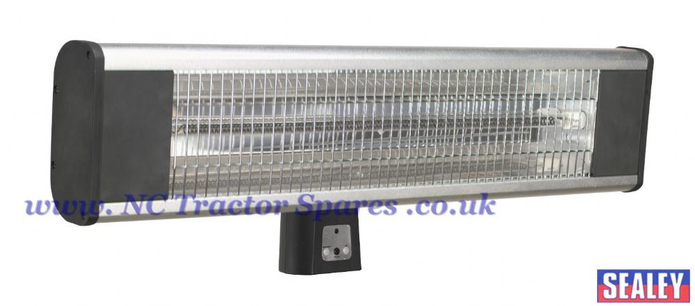 High Efficiency Carbon Fibre Infrared Wall Heater 1800W/230V